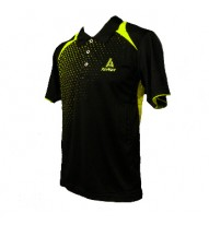 ADF 621 Men's Polo Shirt Black/Lime