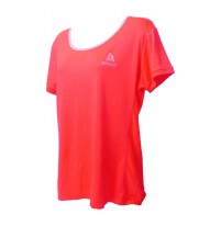 Ladies Roundneck Tshirt Coral